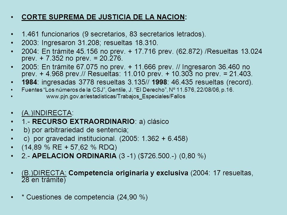 Decisiones CSJN irrevisables por tribunales inferiores.