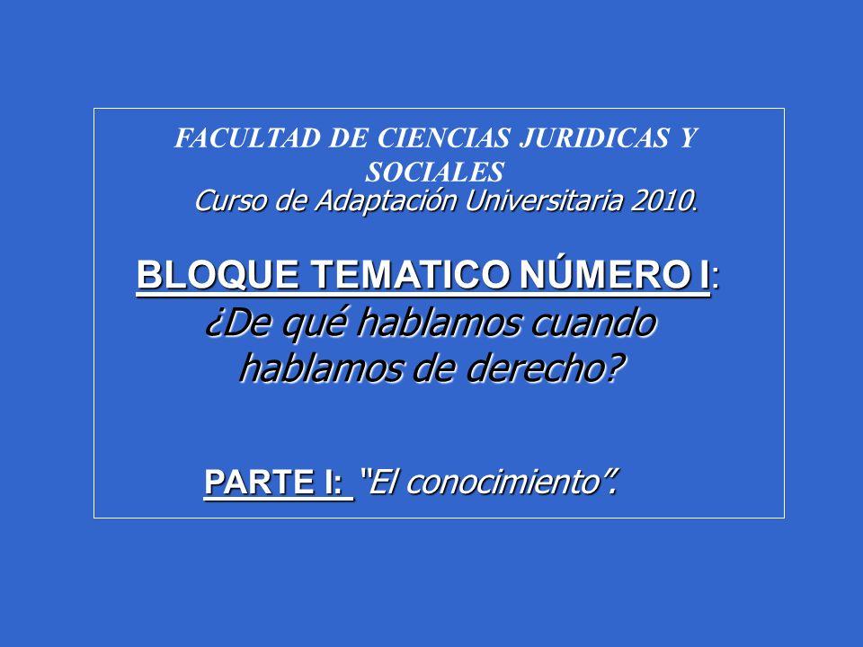 DERECHO (El fenómeno jurídico) A) Ciencia Jurídica.