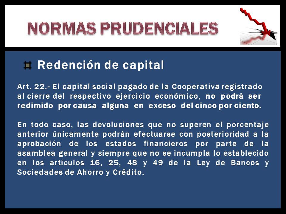 Reserva de Liquidez Art.