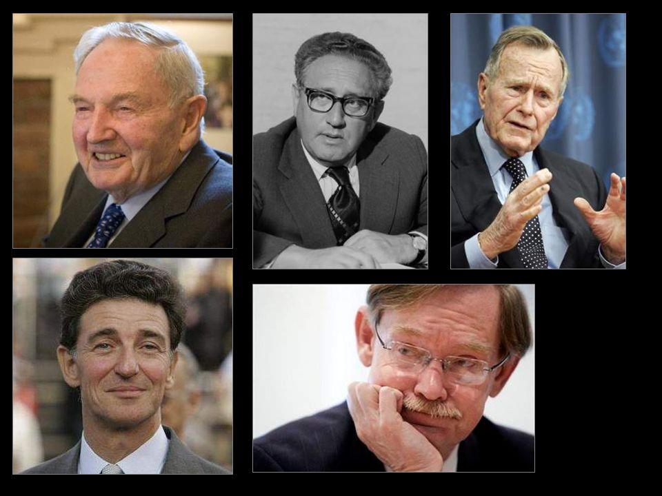 Las casas reales europeas, Bernhard de Lippe-Biesterfeld, Rockefeller, Kissinger, Bush, Rothschild... … (En estos posts no hacemos sino enunciar algun