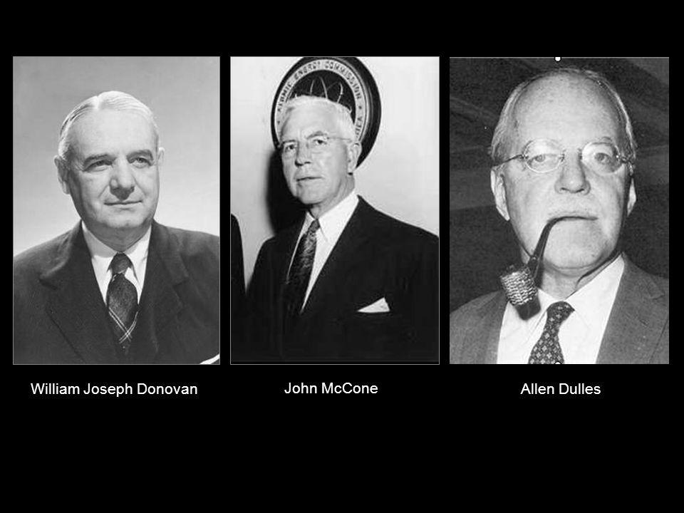 No es ninguna novedad la cantidad de altos mandos de la CIA notificados como caballeros de Malta: Donovan, Dulles, Angleton, McCone, Casey y Walters.
