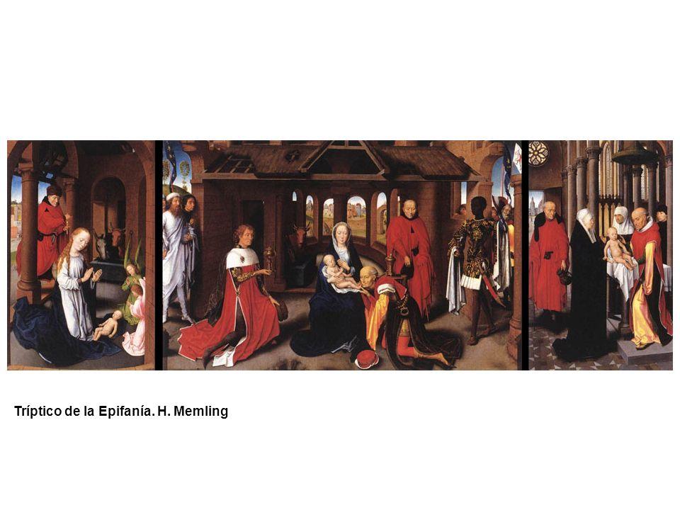 Tríptico de la Epifanía. H. Memling