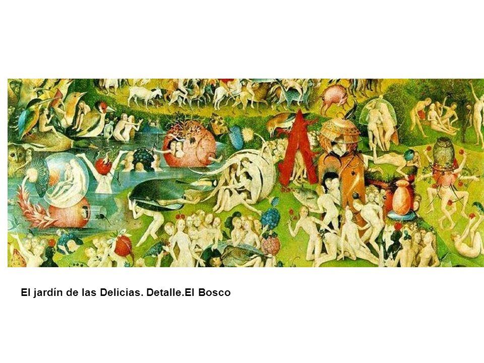 El jardín de las Delicias. Detalle.El Bosco