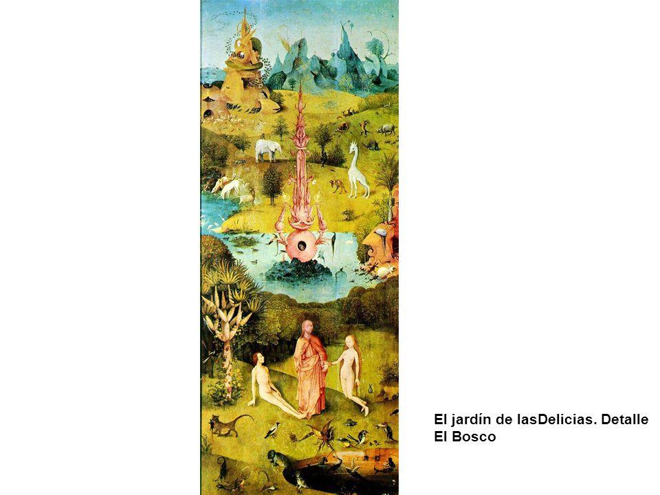 El jardín de lasDelicias. Detalle El Bosco