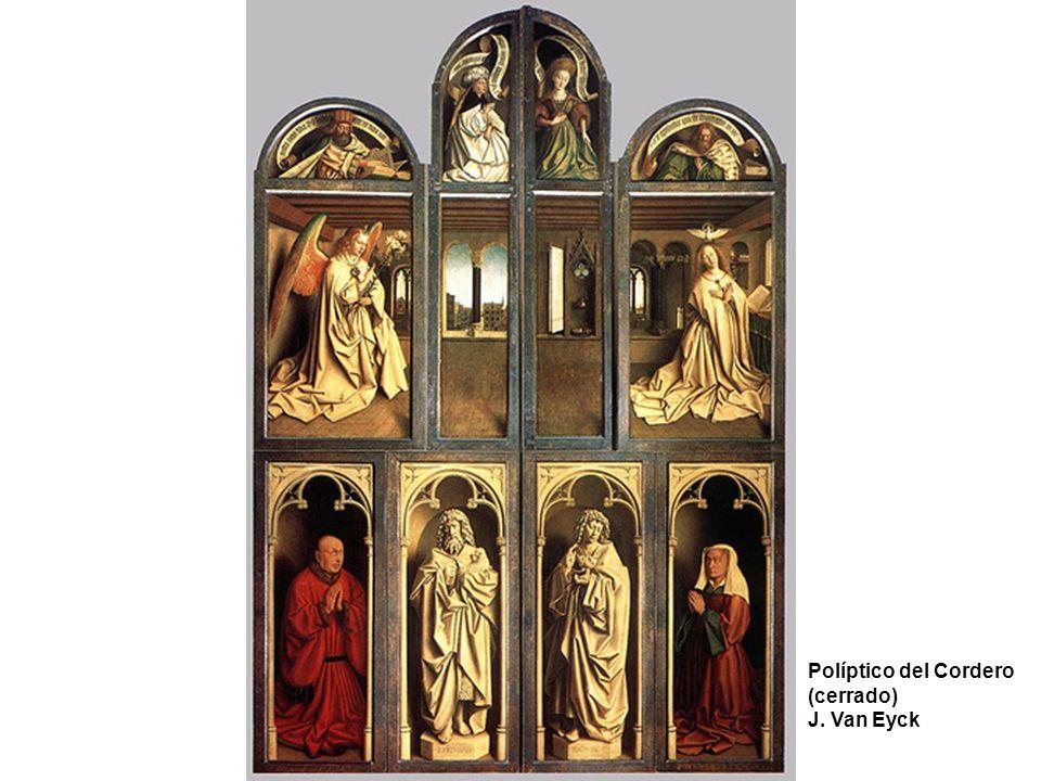 El matrimonio Arnolfini Detalles J.Van Eyck