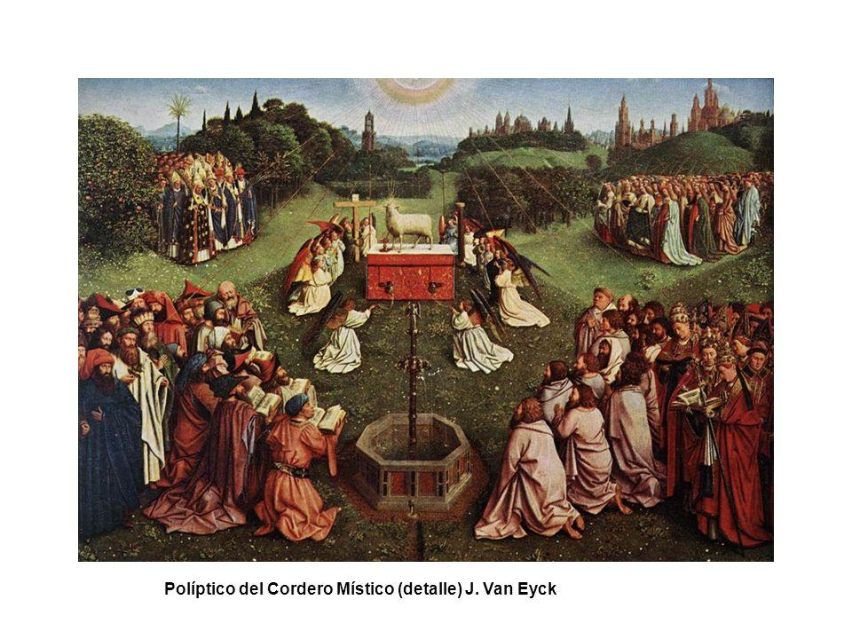 Políptico del Cordero Místico (detalles) J. Van Eyck