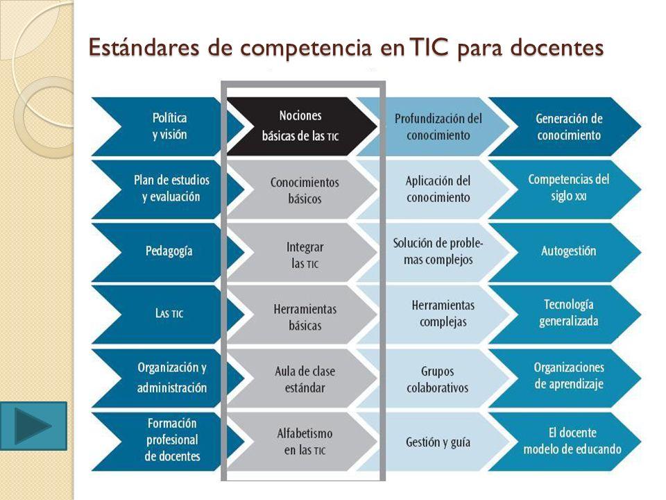 Identifiquemos las competencias en TIC para docentes Anexo 2 (pag.