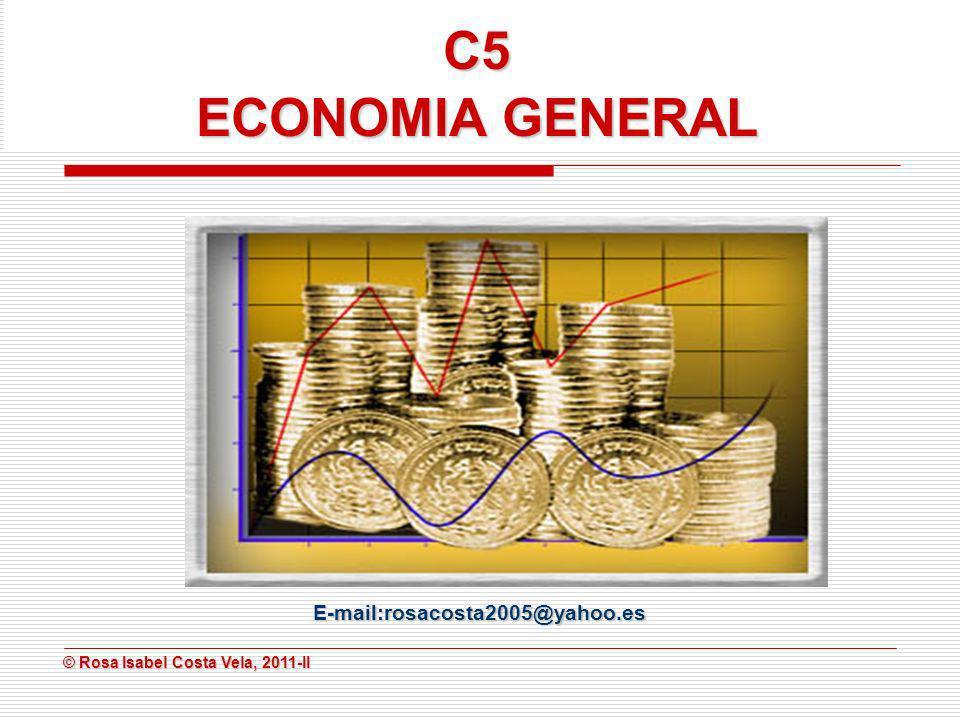 © Rosa Isabel Costa Vela, 2011-II © Rosa Isabel Costa Vela, 2011-II 112233 QxQyQxQyQxQy 1103 512 254769 335577 42.364.286.2 51.773.595.5 61.283.2105.2 70.893115 80.5102.9124.9 90.3 100.2 Curvas de indiferencia Con los datos de la tabla podemos graficar tres curvas de indiferencia.