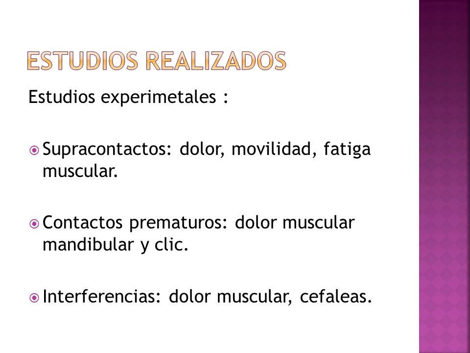 Estudios epidemiologicos.