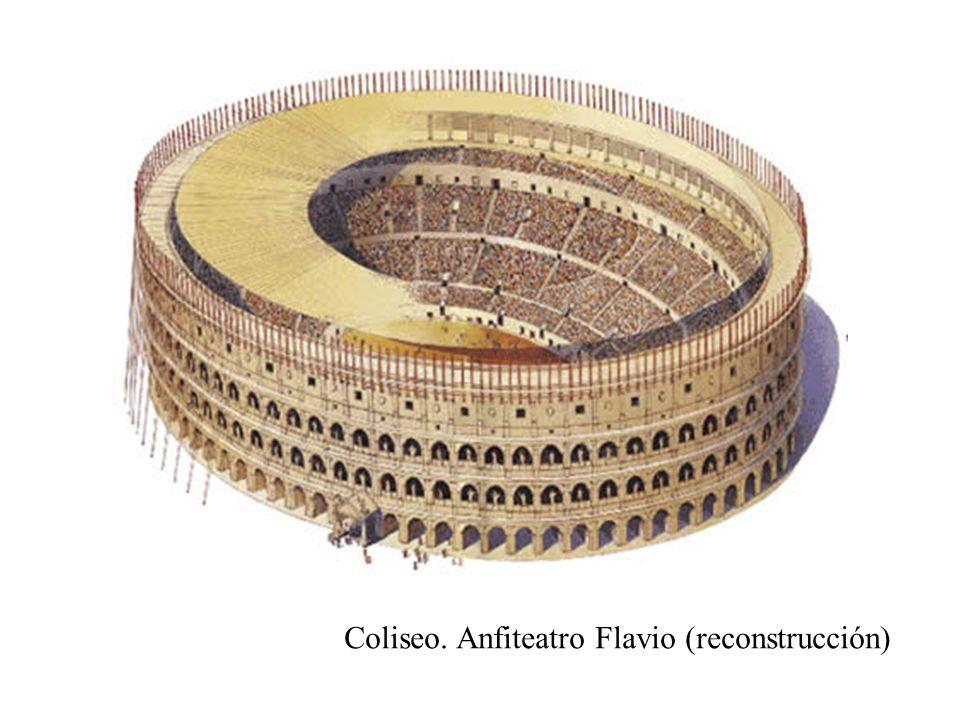 Coliseo. Anfiteatro Flavio (reconstrucción)