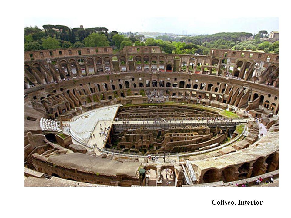 Coliseo. Interior