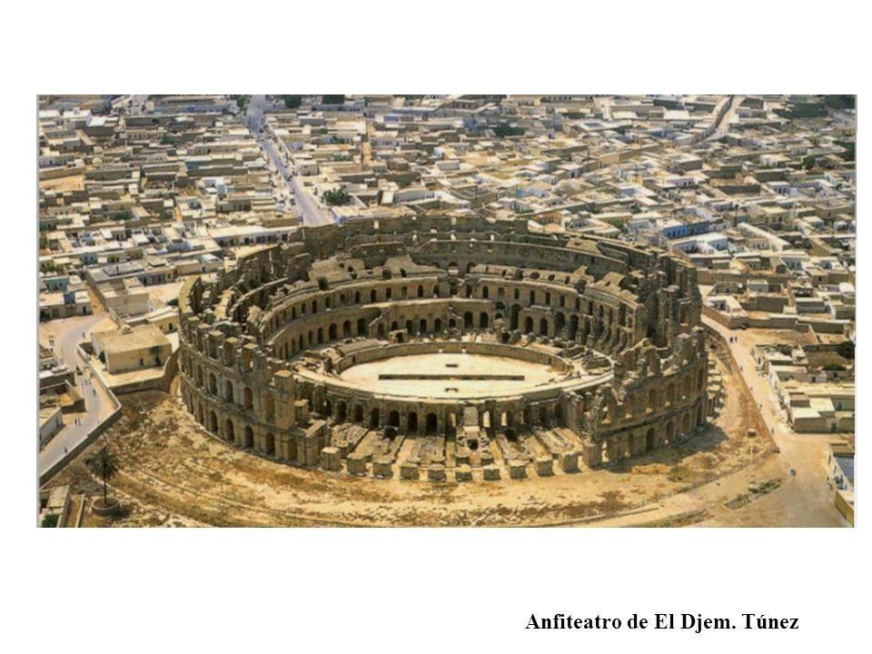 Anfiteatro de El Djem. Túnez