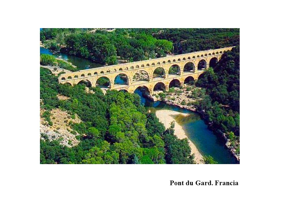 Pont du Gard. Francia