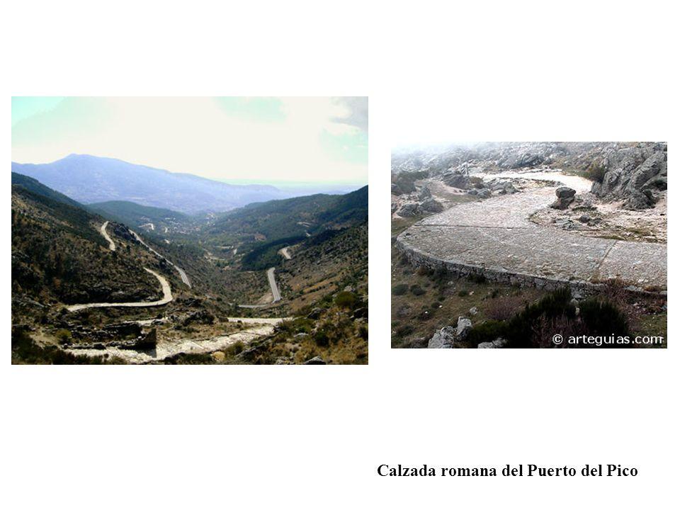 Calzada romana del Puerto del Pico