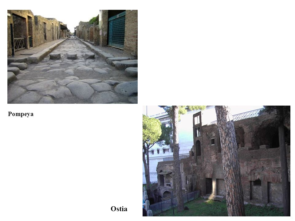 Pompeya Ostia