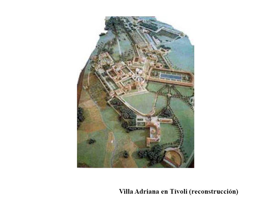 Villa Adriana en Tívoli (reconstrucción)