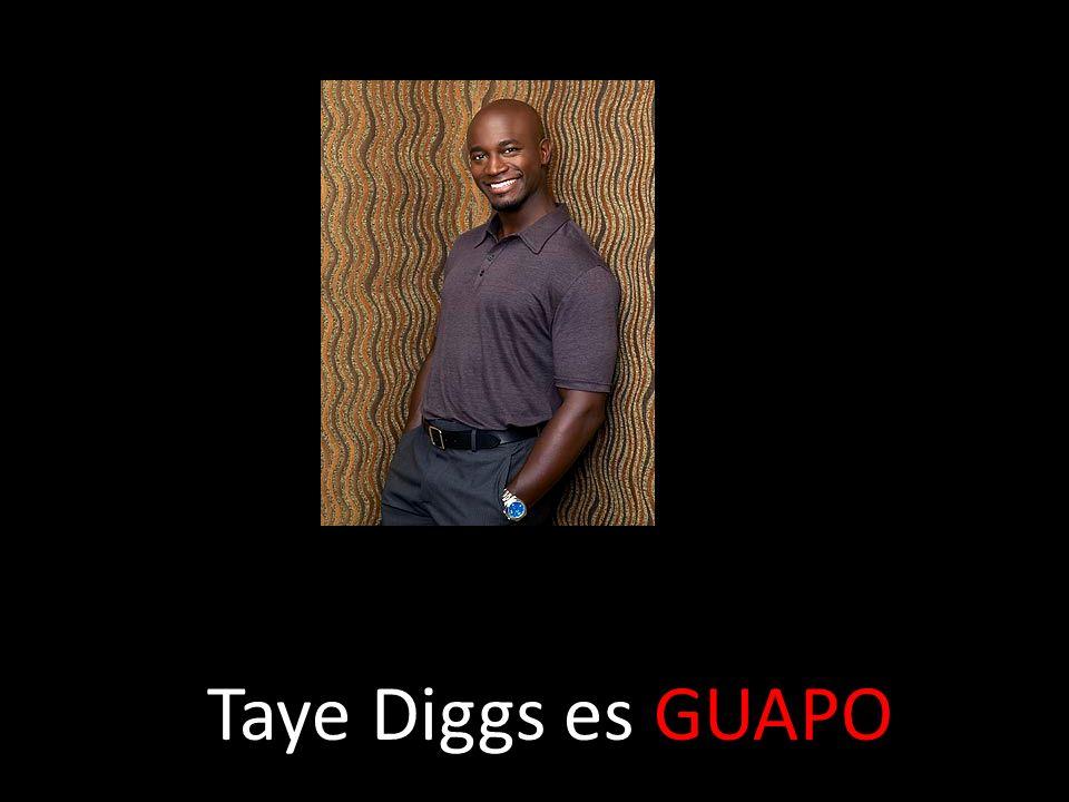 Taye Diggs es GUAPO