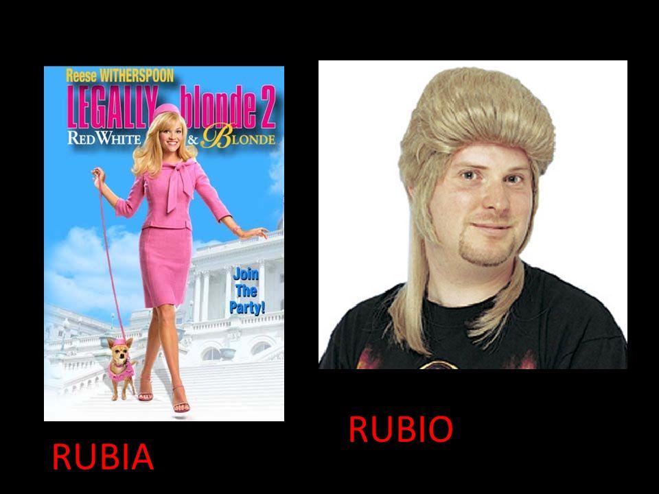 RUBIA RUBIO
