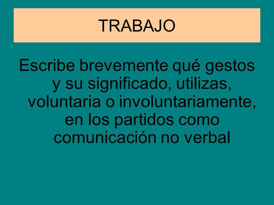Atención especial LA COMUNICACIÓN NO VERBAL