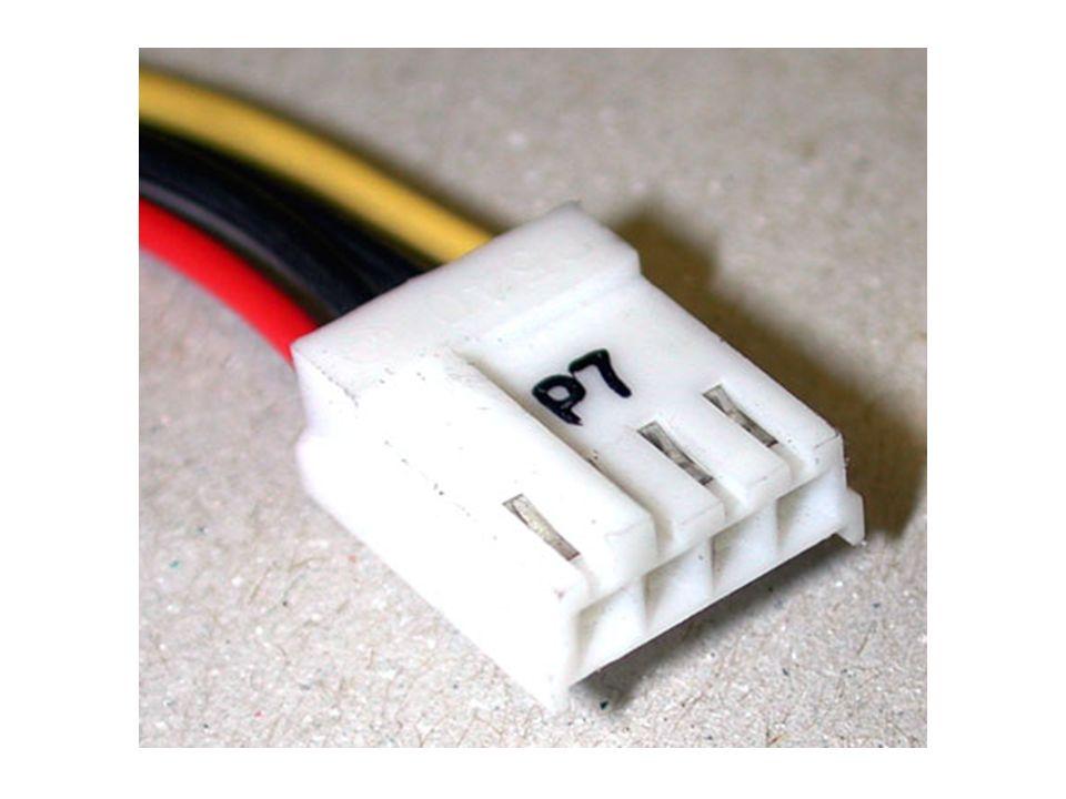 Conectores de la fuente: Formato ATX