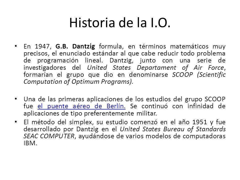 Programación Lineal El adjetivo lineal significa que todas las funciones matemáticas del modelo deber ser funciones lineales.