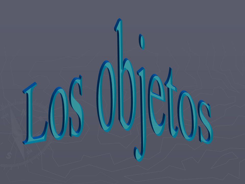 ¿Qué son los objetos? English Ex: I threw Spanish Ex: Tiré la pelota. La tiré. the ball. it.