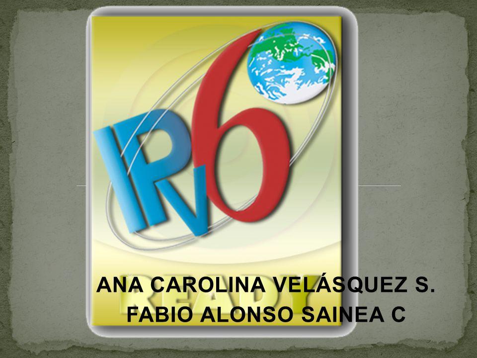 ANA CAROLINA VELÁSQUEZ S. FABIO ALONSO SAINEA C