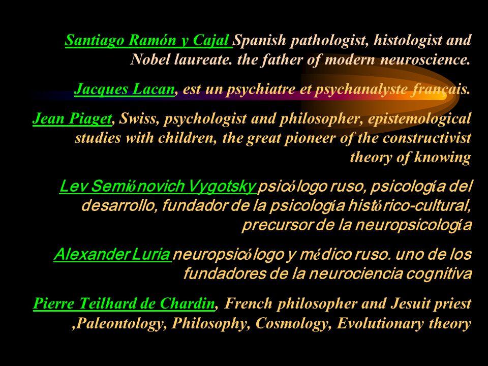 Psicología Neurologí a Lingüística Biologí a Matemáticas Etologí a Física Sociología ------- I A pensamiento percepción afectividad inteligencia conciencia evolución ------- Filosofía Y de lo que surge enriquecen sus propias áreas
