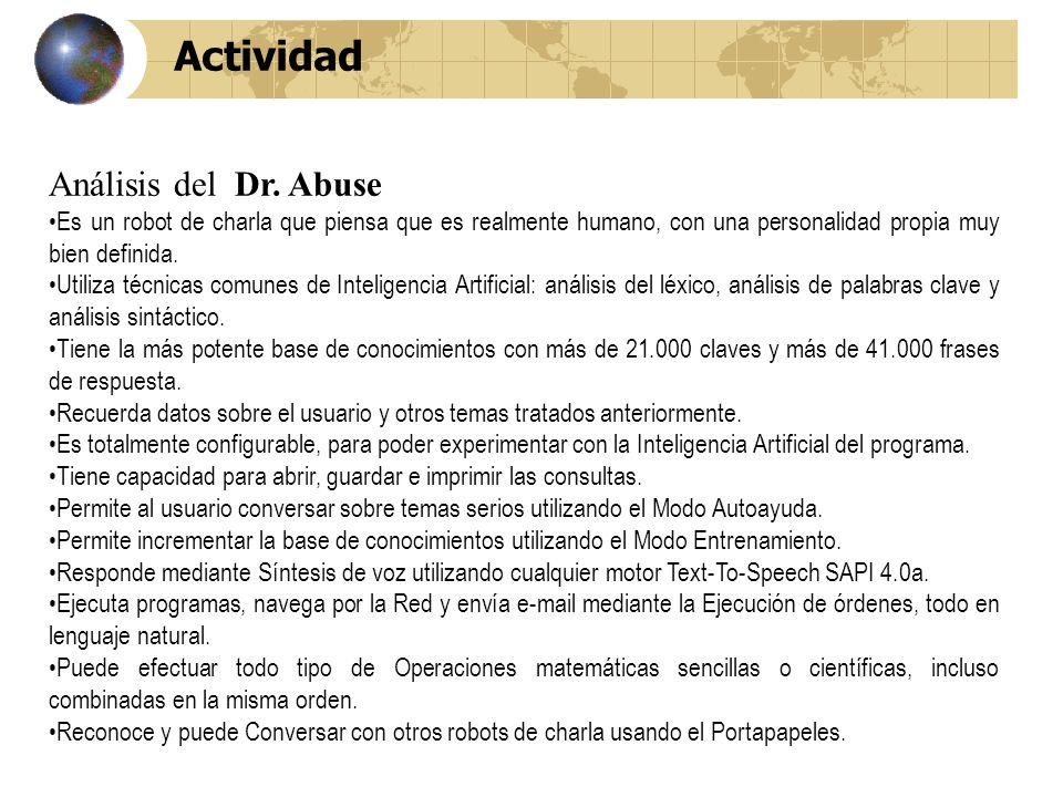 Actividad Análisis del Dr.