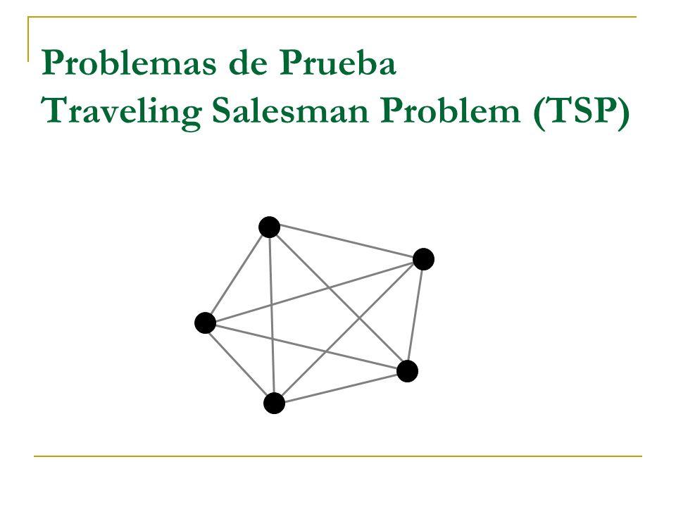 Problemas de Prueba Traveling Salesman Problem (TSP)