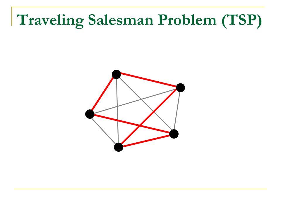 Se busca encontrar el camino Hamiltoniano: a. más corto b. que demore menos tiempo