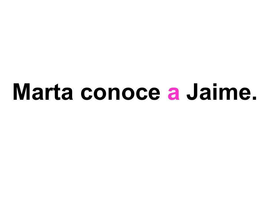 Marta conoce a Jaime.