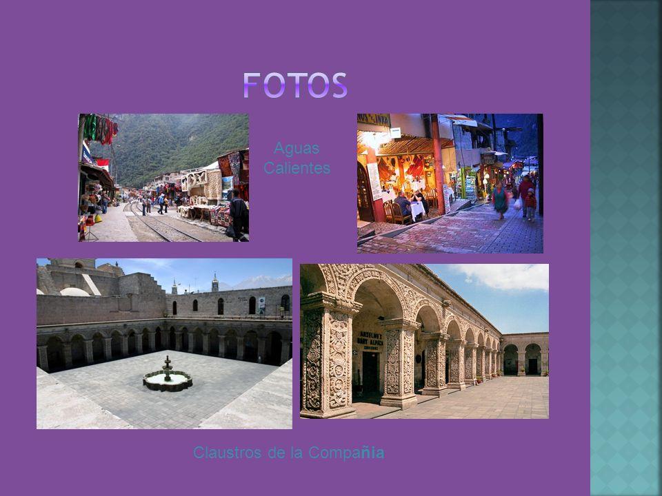 Llegarás a Arequipa en la tarde, y irás para almuerzo a Arrecife Café.