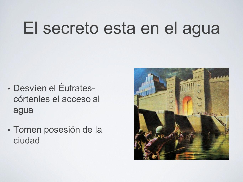 El secreto esta en el agua El secreto del poder y la fuerza del cuerpo humano también depende del agua que le proveemos.