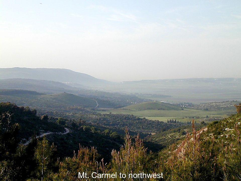 Mt. Carmel to northwest