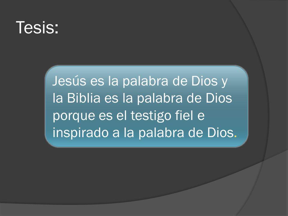 1 Juan 1:1-3 1 Lo que ha sido desde el principio, lo que hemos oído, lo que hemos visto con nuestros propios ojos, lo que hemos contemplado, lo que hemos tocado con las manos, esto les anunciamos respecto al Verbo [logos] que es vida.