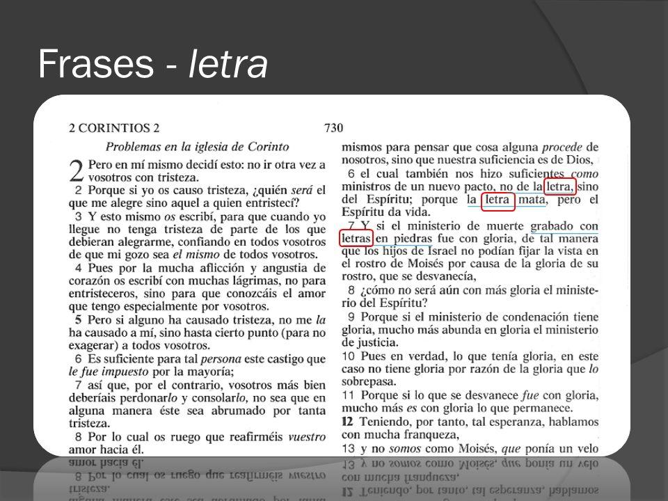 Contextos bíblicos Contextos literarios