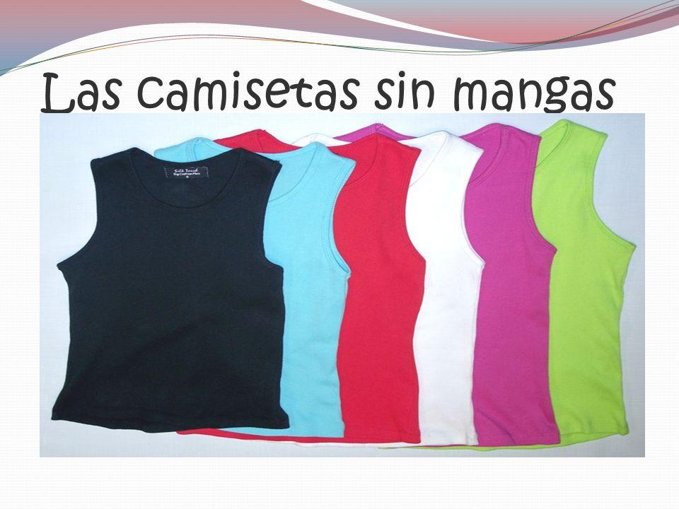 Las camisetas sin mangas