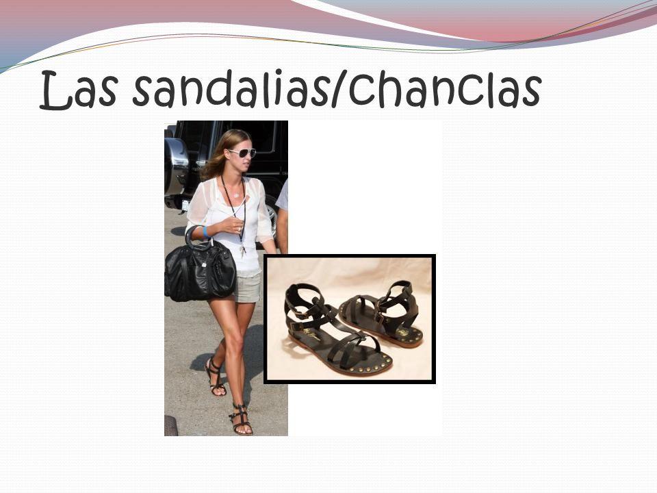 Las sandalias/chanclas