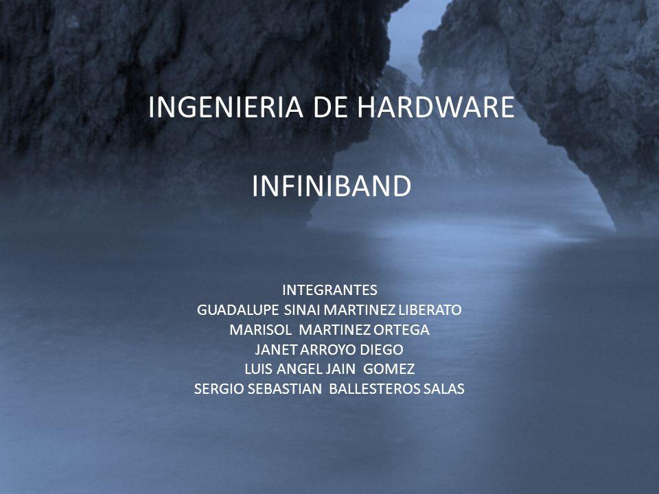 INGENIERIA DE HARDWARE INFINIBAND INTEGRANTES GUADALUPE SINAI MARTINEZ LIBERATO MARISOL MARTINEZ ORTEGA JANET ARROYO DIEGO LUIS ANGEL JAIN GOMEZ SERGI