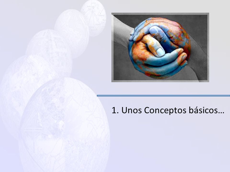Temario de Presentación 1. Algunos conceptos básicos 2. Diagnostico del sector de la Información Geográfica en Guatemala 3. Hacia la formulación de un