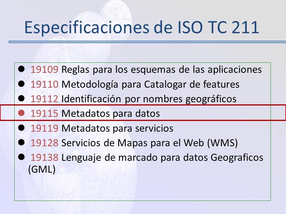 SISTEMA REFERENCIA - ISO19111 Definir el Sistema Geodésico Nacional y sistema de proyección Estándares de exactitud posicional que deberán adoptarse p