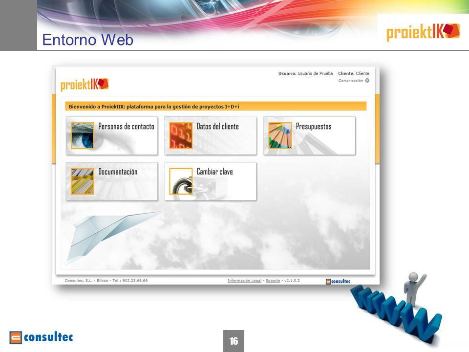 16 Entorno Web