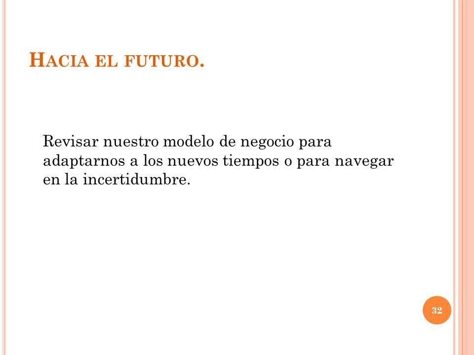 H ACIA EL FUTURO.