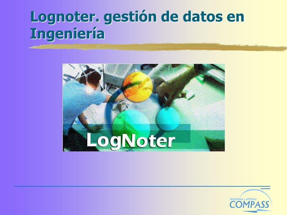 Lognoter. gestión de datos en Ingeniería
