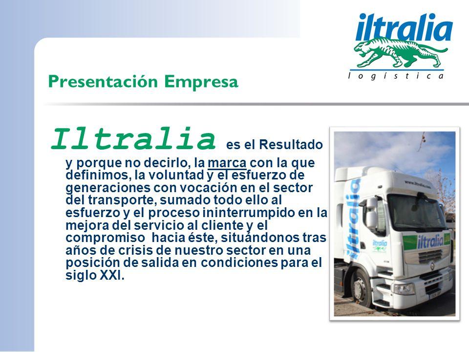 Presentación Empresa Iltralia es el Resultado y porque no decirlo, la marca con la que definimos, la voluntad y el esfuerzo de generaciones con vocaci