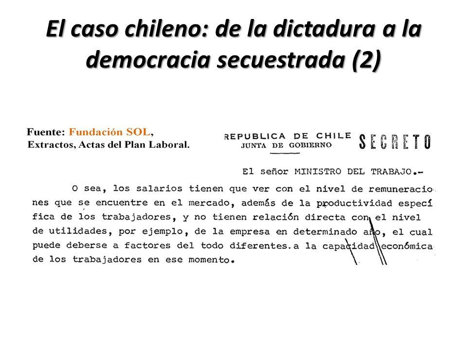 El caso chileno: de la dictadura a la democracia secuestrada (2)