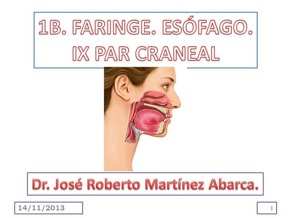 Delimitar y describir la faringe.Explicar su división en nasofaringe, orofaringe y laringofaringe.