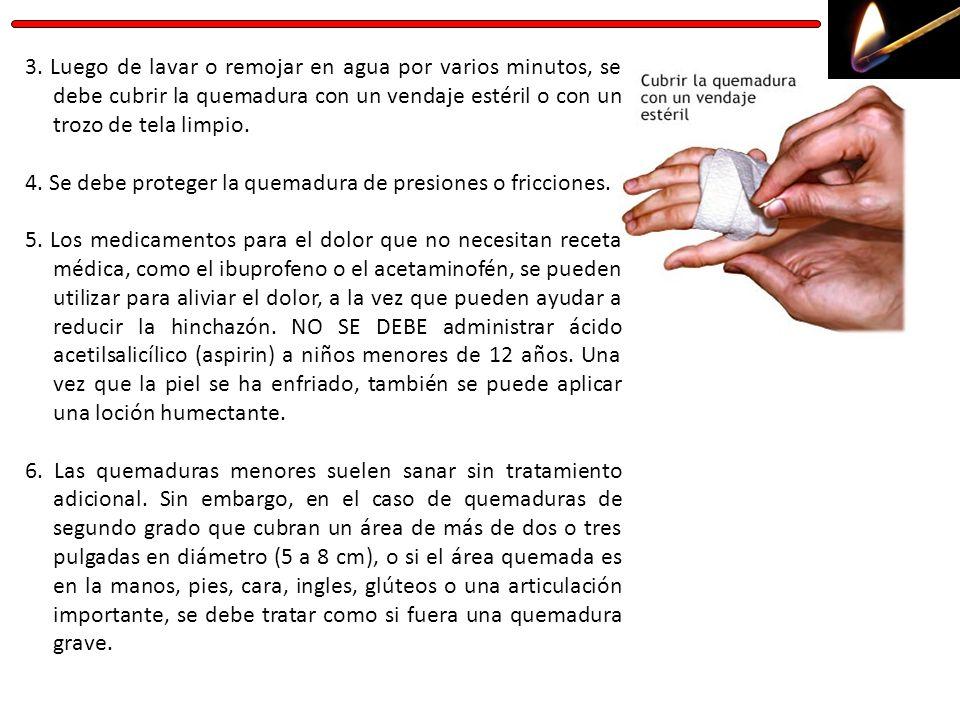 7.Hay que asegurarse de que la persona esté al día con la vacuna contra el tétano.