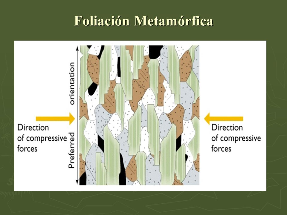 Foliación Metamórfica